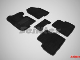 Ворсовые 3D коврики для KIA Sportage III 2010-2015