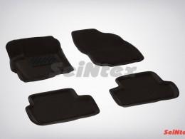 Ворсовые 3D коврики для Mitsubishi Lancer X 2007-н.в.