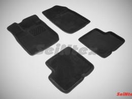Ворсовые 3D коврики для Renault Logan I 2004-2014