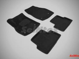 Ворсовые 3D коврики для Opel Astra J 2009-н.в.