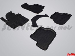 Резиновые коврики с высоким бортом для Volkswagen Jetta 2005-2010