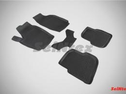 Резиновые коврики с высоким бортом для Nissan Juke 2011-2014