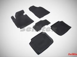 Резиновые коврики с высоким бортом для Hyundai Elantra 2011-2015