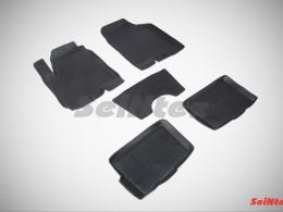 Резиновые коврики с высоким бортом для KIA Soul I 2009-2013