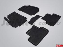 Резиновые коврики с высоким бортом для Chevrolet Orlando (5 мест) 2011-2015