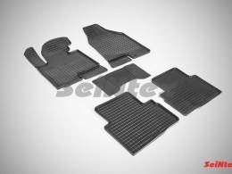 Коврики резиновые (рисунок Сетка) для KIA Sportage III 2010-2015