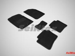Ворсовые 3D коврики для Hyundai Solaris 2010-2017
