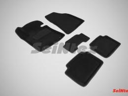 Ворсовые 3D коврики для Hyundai i30 new 2012-н.в.