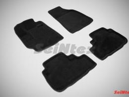 Ворсовые 3D коврики для Toyota Highlander II 2007-2013