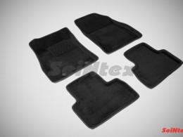 Ворсовые 3D коврики для Nissan Juke 2011-2014