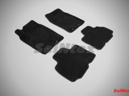 Ворсовые 3D коврики для Ssang Yong Kyron 2007-2015