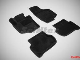 Ворсовые 3D коврики для Skoda Yeti 2008-н.в.