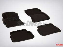 Ворсовые 3D коврики для Subaru Forester III (для АКПП) 2008-2012