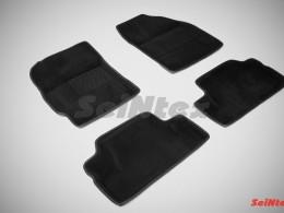Ворсовые 3D коврики для Toyota Corolla X (300N/MC) 2007-2013