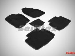 Ворсовые 3D коврики для Toyota RAV4 IV 2012-н.в.