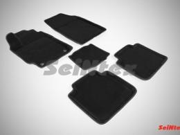 Ворсовые 3D коврики для Toyota Camry VII 2012-н.в.