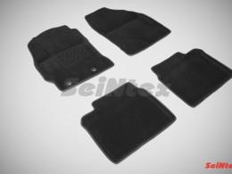 Ворсовые 3D коврики для Toyota Corolla XI 2013-н.в.