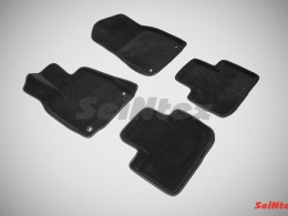 Ворсовые 3D коврики для Lexus IS (кроме версий с гибридным двигателем) 2013-н.в.