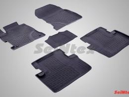 Резиновые коврики с высоким бортом для Honda Civic IX Sedan 2011-н.в.