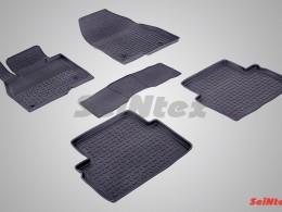 Резиновые коврики с высоким бортом для Mazda 3 (BM) 2013-н.в