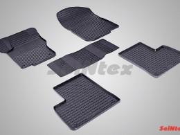 Резиновые коврики Сетка для Mercedes-Benz M-Class W166 2012-н.в.