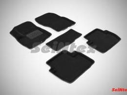 Ворсовые 3D коврики для Mitsubishi Outlander III 2012-н.в.