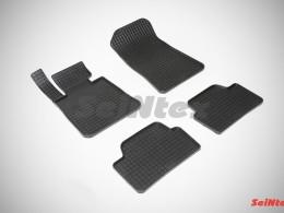 Коврики резиновые (рисунок Сетка) для BMW 1 Ser E-81-88 2004-2013