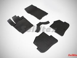 Коврики резиновые (рисунок Сетка) для Audi A-1 2010-н.в.