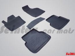 Резиновые коврики с высоким бортом для Audi Q-3 2011-н.в.