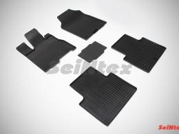 Коврики резиновые (рисунок Сетка) Acura RDX II 2012-н.в.