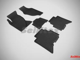Коврики резиновые (рисунок Сетка) для Great Wall Hover H5 TDA 2010-н.в.