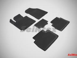 Резиновые коврики с высоким бортом для KIA Soul II 2013-н.в.