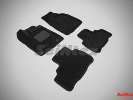Ворсовые 3D коврики для Toyota Highlander III 2013-н.в.