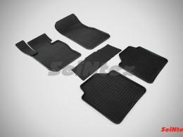 Коврики резиновые (рисунок Сетка) для BMW 3 Ser F-30 GT 2011-н.в.