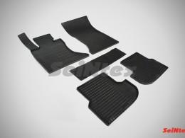 Коврики резиновые (рисунок Сетка) для BMW 5 Ser F-10 4WD 2013-н.в.