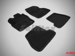Ворсовые 3D коврики для Ford Focus III МКПП 2011-2015