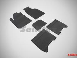 Резиновые коврики с высоким бортом для Chery Bonus III (A19) 2014-н.в.