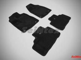Ворсовые 3D коврики для Acura MDX 2014-н.в.