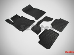 Коврики резиновые (рисунок Сетка) для BMW 1 Ser F-20-21 2013-н.в.