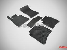 Резиновые коврики Сетка для Mercedes-Benz S-Class W222 Long 2013-н.в.