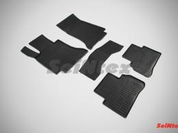 Резиновые коврики Сетка для Mercedes-Benz C-Class W205 2014-н.в.