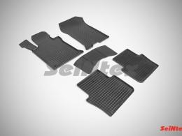 Коврики резиновые (рисунок Сетка) Acura TLX (2.4) 2014-н.в.