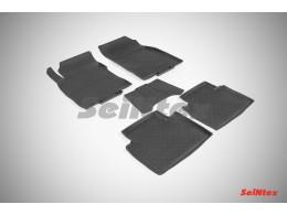 Резиновые коврики с высоким бортом для Nissan X-Trail (T32) 2015-