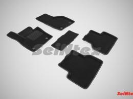 Ворсовые 3D коврики для Audi Q3 2011-н.в.