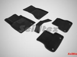 Ворсовые 3D коврики для Audi A6 (С7) 2011-н.в.