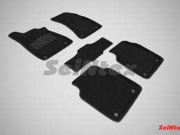 Ворсовые 3D коврики для Audi A8 III (D4) 2010-н.в