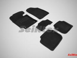 Ворсовые 3D коврики для KIA Cerato 2013-н.в.