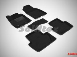 Ворсовые 3D коврики для Ford Ecosport 2014-н.в.