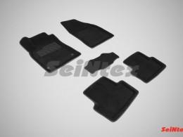 Ворсовые 3D коврики для Renault Fluence 2010-н.в.