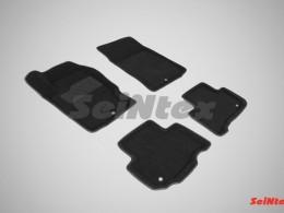 Ворсовые 3D коврики для Ssang Yong Rexton 2012-н.в.